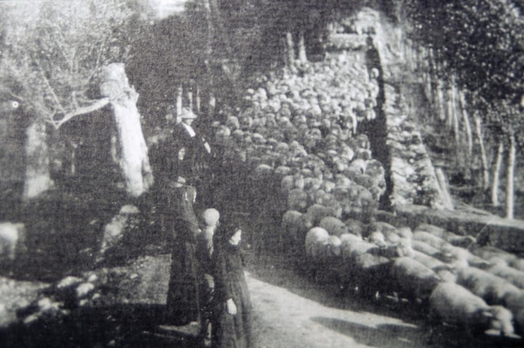 Pastores trashumantes rumanos. 1997.